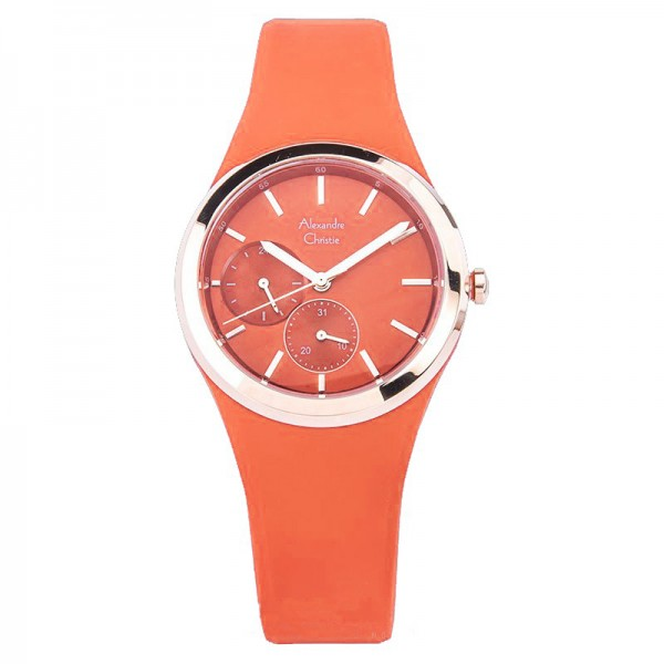 Alexandre Christie AC 2663 Rosegold Orange BFRRGPE